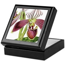 Lady Slipper Orchid Keepsake Box