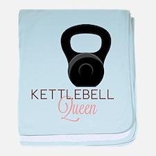 Kettlebell Queen baby blanket