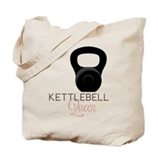 Kettlebell Queen Tote Bag