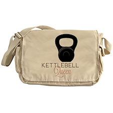Kettlebell Queen Messenger Bag