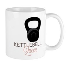 Kettlebell Queen Small Mug