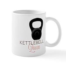 Kettlebell Queen Small Mugs