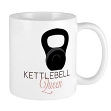 Kettlebell Queen Small Mugs