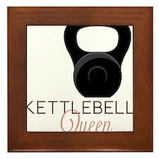 Kettlebell Queen Framed Tile