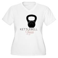 Kettlebell Queen Plus Size T-Shirt