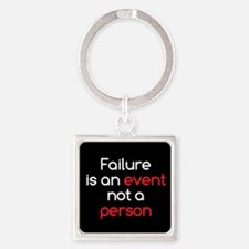 Failure is not a Person Square Keychain