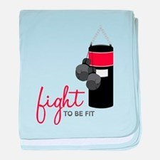 Fight to be Fit baby blanket