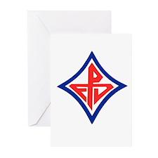 FD Logo Greeting Cards (Pk of 10)