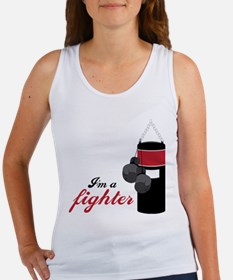 I'm A Fighter Tank Top
