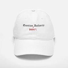 Question Barney Authority Baseball Baseball Cap