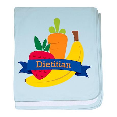 Dietitian baby blanket