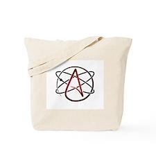 Modern Atheist Atomic Color Tote Bag