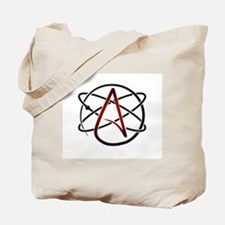 Modern Atheist Atomic Color Tote Bag