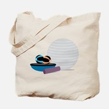 Workout Equipment Tote Bag