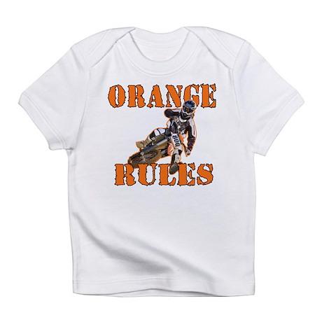 Orange Rules Infant T-Shirt