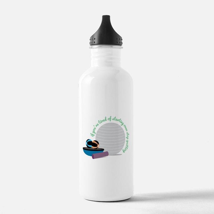 Starting Over Water Bottle