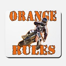 Orange Rules Mousepad