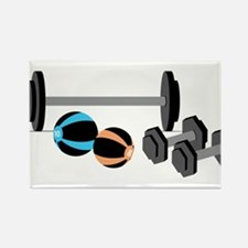 Weights Rectangle Magnet