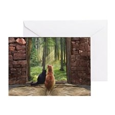 Doorway into Forever Greeting Card