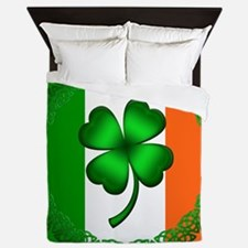 Flag and Clover Queen Duvet