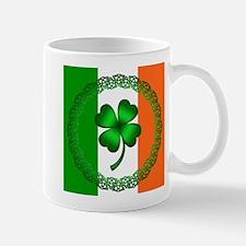 Flag and Clover Mug