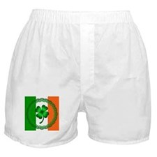 Flag and Clover Boxer Shorts