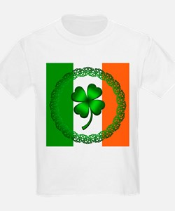 Flag and Clover T-Shirt