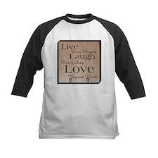 Live, Laugh, Love Baseball Jersey