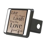 Live laugh love Rectangle