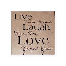 Live, Laugh, Love Sticker