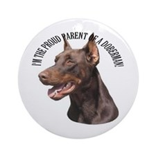 Proud Parent Ornament (Round)