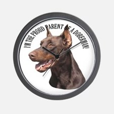 Proud Parent Wall Clock