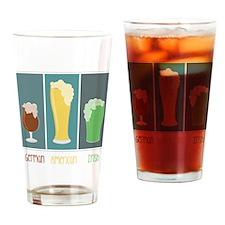 German - American - Irish Drinking Glass