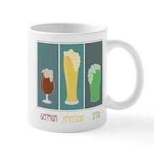 German - American - Irish Small Mug