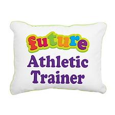 Future Athletic Trainer Rectangular Canvas Pillow