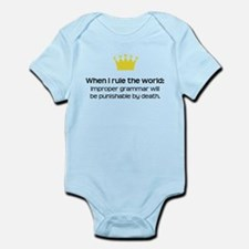 When I Rule the World: Grammar Body Suit