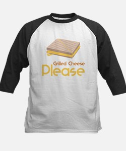 Grilled Cheese Please Baseball Jersey