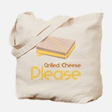 Grilled Cheese Please Tote Bag