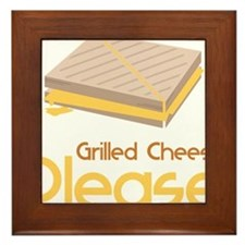 Grilled Cheese Please Framed Tile