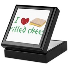 I Love Grilled Cheese Keepsake Box
