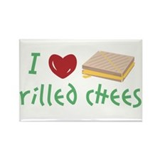 I Love Grilled Cheese Rectangle Magnet