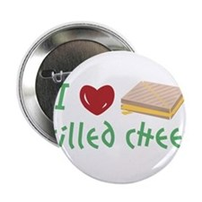 "I Love Grilled Cheese 2.25"" Button"