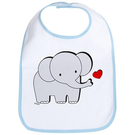 Elephant Love Bib