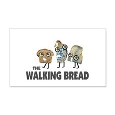 the walking bread Wall Decal