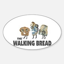 the walking bread Decal