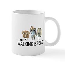 the walking bread Small Mug