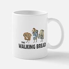 the walking bread Small Small Mug