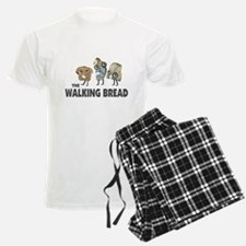 the walking bread Pajamas