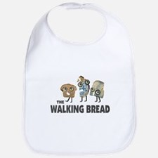 the walking bread Bib