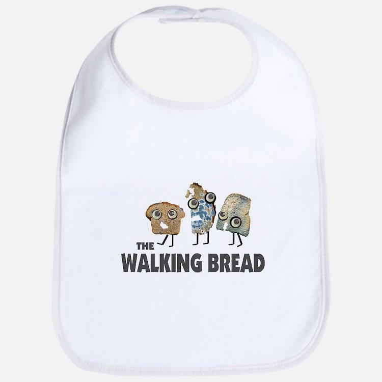 the walking bread Bib